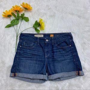 Pilcro and the Letterpress Fit Stet Denim Shorts
